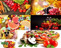 营养食物展示拍摄高清图片