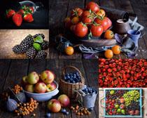 苹果樱桃西红柿摄影高清图片