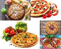 披萨水果蔬菜美食摄影高清图片
