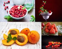 杨桃草莓新鲜水果摄影高清图片
