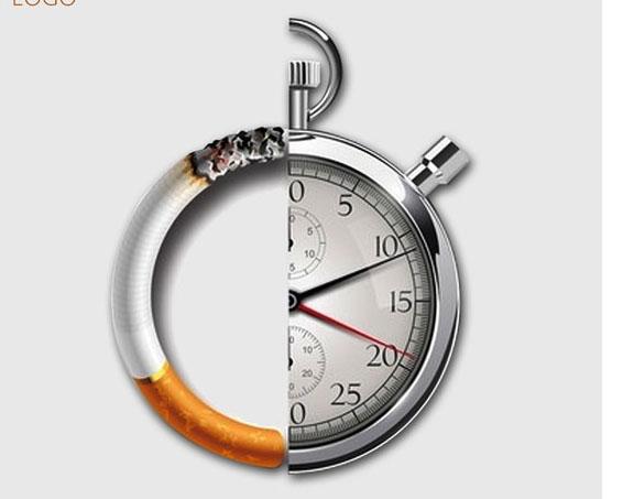 世界无烟广告设计PSD素材