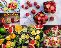 水果派對展示廣告攝影高清圖片