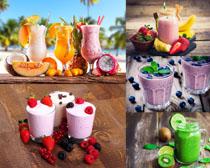 水果果汁奶茶飲料攝影高清圖片