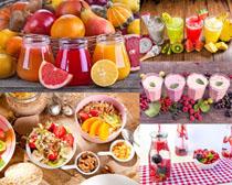 營養色彩果汁攝影高清圖片