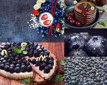 藍莓漿果拍攝高清圖片
