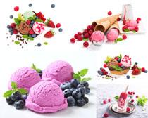 冰淇淋甜筒美食攝影高清圖片