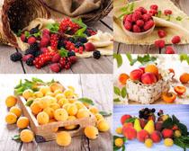 楊桃覆盆子水果攝影高清圖片