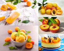 楊桃冰棒蛋糕攝影高清圖片