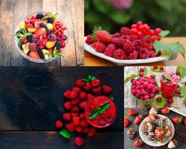樹莓草莓展示拍攝高清圖片