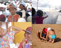 国外天真可爱儿童摄影高清图片
