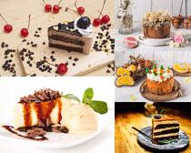 生日巧克力蛋糕摄影高清图片