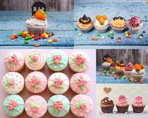 可爱甜品蛋糕摄影高清图片