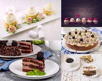 精致小甜品蛋糕摄影高清图片