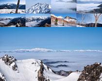 雪山景观写真拍摄高清图片