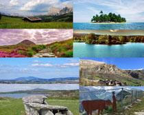 國外唯美的湖水山川拍攝高清圖片