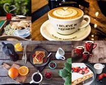 咖啡水果休闲摄影高清图片