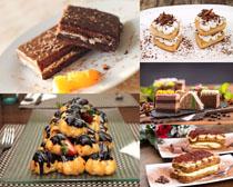 巧克力甜品饼干摄影高清图片