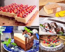 漂亮的早餐甜品展示摄影高清图片