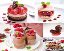 浆果蛋糕甜品食物摄影高清图片