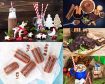巧克力冰棒礼物摄影高清图片