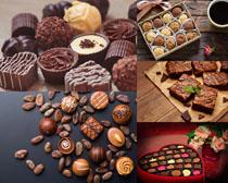 情人节果仁巧克力展示拍摄高清图片