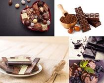 巧克力块食物摄影高清图片