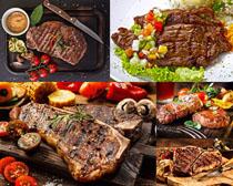 味美牛排美食摄影高清图片