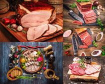 肉干片火腿食物摄影高清图片