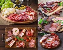 香肠腊肉美食摄影高清图片