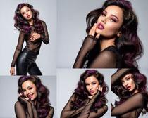 国外化妆美女写真拍摄高清图片
