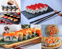 寿司美食展示拍摄高清图片