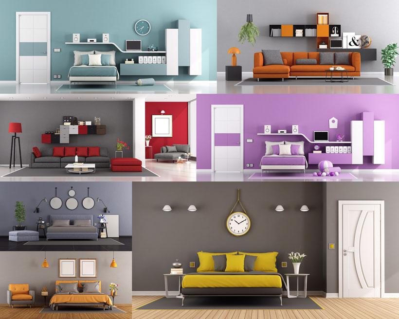 室內布置家居風格設計攝影高清圖片