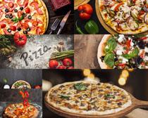 披薩西紅柿寫真拍攝高清圖片