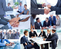 商务办公人士会议摄影高清图片
