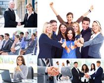 职业开心商务人士摄影高清图片