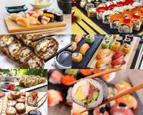 日本美食壽司寫真拍攝高清圖片