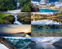 森林山水风光写真拍摄高清图片