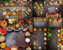 各種調料品食物攝影高清圖片