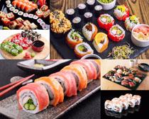 日本精美壽司展示拍攝高清圖片