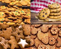 甜品小餅干攝影高清圖片