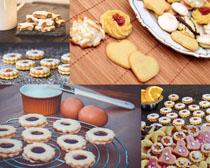 制作餅干拍攝高清圖片