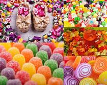 兒童最愛糖果攝影高清圖片