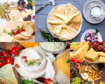 面饼奶酪食物摄影高清图片