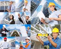 国外建筑工程人物摄影高清图片