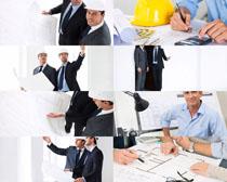 工程建筑设计人士摄影高清图片