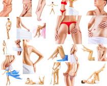 女人肌膚與身材攝影高清圖片