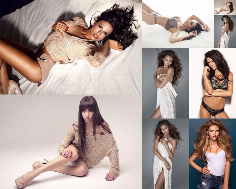 国外性感女性写真拍摄高清图片