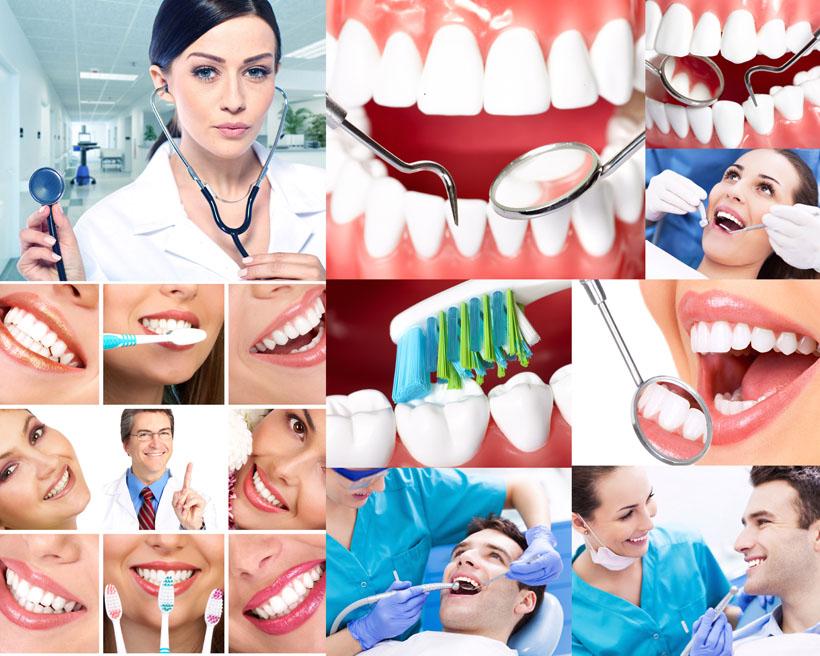 美牙护牙医生摄影高清图片