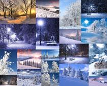 冬季雪景风光拍摄高清图片