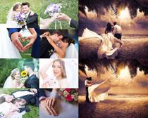 国外夫妻婚纱写真摄影高清图片